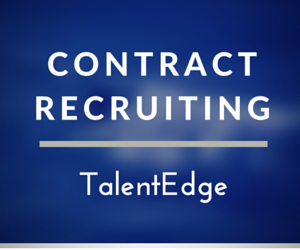 Contract recruiting